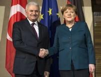 ANGELA MERKEL - Yıldırım - Merkel görüşmesi
