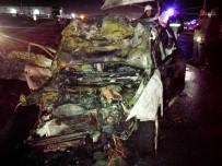 AĞIR YARALI - 1 Kişinin Yanarak Öldüğü Kazada Kaçan 3 Kişi Yakalandı