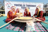 HALK OYUNLARI - Bu Da Ev Tarhanasının Festivali