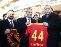 FORMA - Cumhurbaşkanı Erdoğan'a Evkur Yeni Malatyaspor Forması