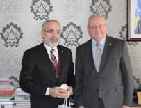 Yalçın Topçu'dan Kosova Büyükelçiliği'ne ziyaret