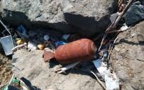 ASKERİ MÜHİMMAT - Deniz kenarında bulunan cisim patlatıldı