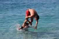 KUŞ BAKıŞı - Fethiye'de Şubat Ayında Deniz Keyfi