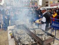 AKİF HAMZAÇEBİ - Hamsi Festivalinde 5 Ton Balık İkram Edildi