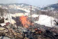 Kastamonu'da Çıkan Yangın 7 Evi Kül Etti