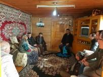 Kaymakam'dan Şehit Ailesine Ziyaret