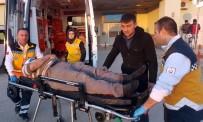 Okul İnşaatından Düşen İşçi Ağır Yaralandı