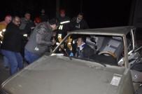 Seydişehir' De İki Otomobil Çarpıştı Açıklaması 6 Yaralı