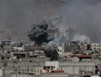BAŞKENT - Rejim güçleri Şam'ı vurdu: 97 yaralı