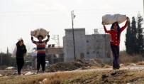 KIZ ÇOCUĞU - Suriyeli Çocukların Yürek Burkan 'Odun' Mutluluğu