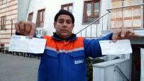 Temizlik İşçisi Bulduğu 50 Bin Liralık Çeki Sahibine Teslim Etti