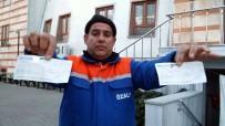 Temizlik İşçisi Bulduğu 50 Bin Liralık Çekleri Teslim Etti