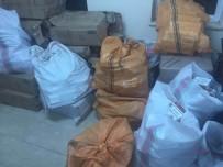 SIGARA - Terk Edilmiş Araçta 40 Bin 500 Paket Sigara Ele Geçirildi