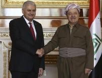 Yıldırım-Barzani görüşmesi başladı