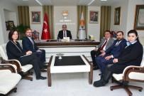 MURAT ÖZKAN - ABD Ankara Büyükelçiliği Siyasi Bölüm Diplomatı Boyd, Ak Parti'ye Ziyaret Etti