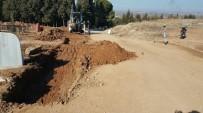 ORÇUN - Ahmetli Mezarlığı'na Düzenleme