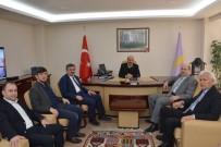 AK Parti Heyetinden Başkan Konak'a Ziyaret