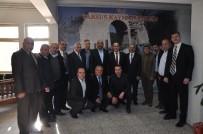 KUYUMCULAR ODASI - Başkan Dinçer'den Tarsus Kaymakamı Yüksel Ünal'a Ziyaret