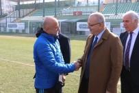 MARATON - Başkan Ergün Futbolculara Umut Aşıladı