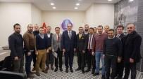 İSMAIL ÇEVIK - Başkan Ünlü'den, ESGİAD'a Ziyaret