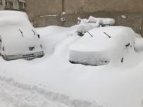 KÖY YOLLARI - Bingöl'de Son 25 Yılın En Yoğun Kar Yağışı Gerçekleşti