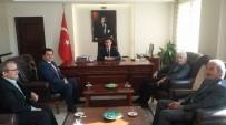 CHP Gökçebey Heyetinden Kaymakam Öztürk'e Ziyaret