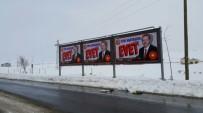 Diyadin Belediyesinden 'Yeni Anayasaya Evet' Afişleri