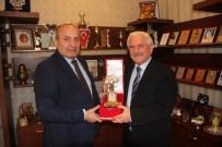 Emekli Vali İngenç Başkan Arslan'ı Ziyaret Etti