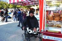 YÜRÜME ENGELLİ - Engelli Rampası Olamayınca Trene Binemedi