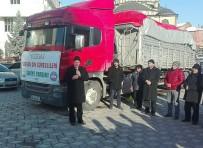 Halep'ten Tahliye Edilen Suriyelilere Yardımlar Sürüyor