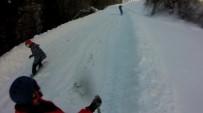 YAVUZ ARSLAN - Kayak Merkezi Bitmeden Snowboardculara Mekan Oldu