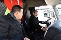 HÜSEYİN SAMANİ - Kepez Belediyesi'ne Yeni Araçlar