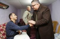 TEDAVİ SÜRECİ - Kesimoğlu, Gazi Sezer Özdere'yi Ziyaret Etti