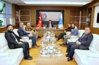 MUSTAFA DOĞAN - Maarif Vakfı Başkanı Prof. Dr. Cem Zorlu'dan Rektör Karacoşkun'a Ziyaret