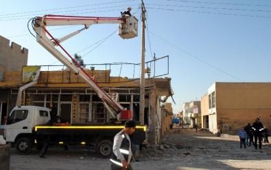 Nusaybin'de Elektrik Şebekesi Normale Dönüyor