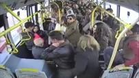OTOBÜS ŞOFÖRÜ - Otobüste Yolculara Dehşeti Yaşattı