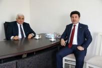 MUSTAFA DOĞAN - Rektör Karacoşkun,  Milletvekili Hilmi Dülger'i Ziyaret Etti