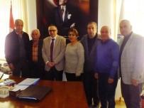 MESUT YILMAZ - Serik Kaymakamı Şimşek'e Ziyaretler