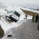 ŞİDDETLİ RÜZGAR - Şiddetli Rüzgar Sincik'te Hayatı Olumsuz Etkiliyor