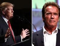 ARNOLD SCHWARZENEGGER - Schwarzenegger'dan Trump'a: İşini bana devret; insanlar rahat uyuyabilsin
