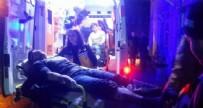 SİLAHLI KAVGA - Yol verme kavgasında silahlar çekildi: 2 yaralı