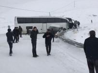 Yollardaki Buzlanma Kazaları Beraberinde Getirdi