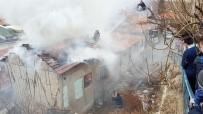 97 Yaşındaki Kadının Evi Yandı