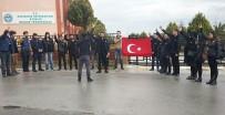 EGE ÜNIVERSITESI - Ayvalık'ta Ülkücü Öğrenciler Fırat Yılmaz Çakıroğlu'nu Unutmadı