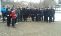ŞELALE - Başkan Halit Demir'den Öğrencilere Sucuk Ziyafeti