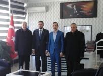 ÇIÇEKLI - Başkan İlhan'dan Kaymakam Çiçekli'ye Ziyaret