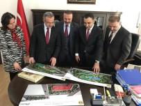 Başkan Köşker Projeler İçin Silvan'da