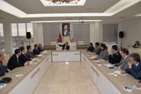 Başkan Yağcı İstişare Toplantısında
