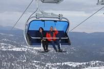 OSMAN ZOLAN - Başkan Zolan, Denizli Kayak Merkezi'ni İnceledi