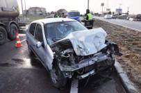 Biga'da Trafik Kazası Açıklaması 1 Ölü, 2 Yaralı